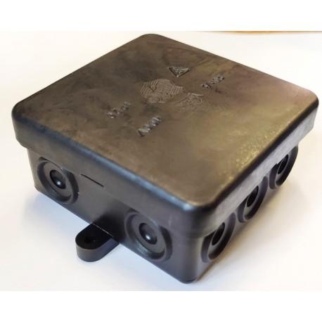Puszka elektryczna zatrzaskowa natynkowa 80x80x40mm