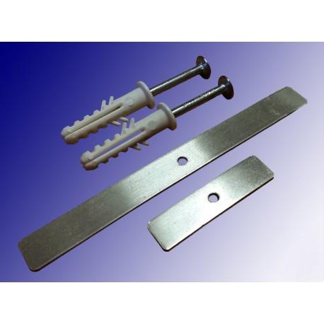 Uchwyt aluminiowy z gwoździem i kołkiem