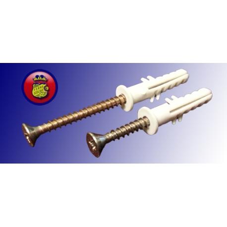 Kołek rozporowy ϕ 8 Wkr.4x45+ 100 sztuk