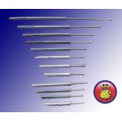 Kołek rozporowy mocowanie ramowe 12/240 wkręty 8x240 25 sztuk